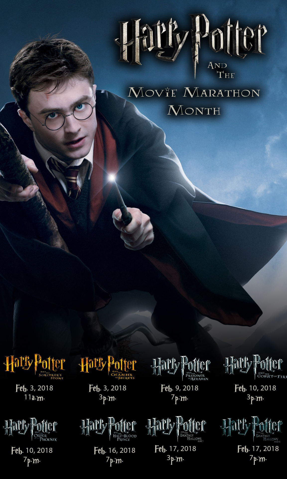 harry potter and the movie marathon month lucas theatre
